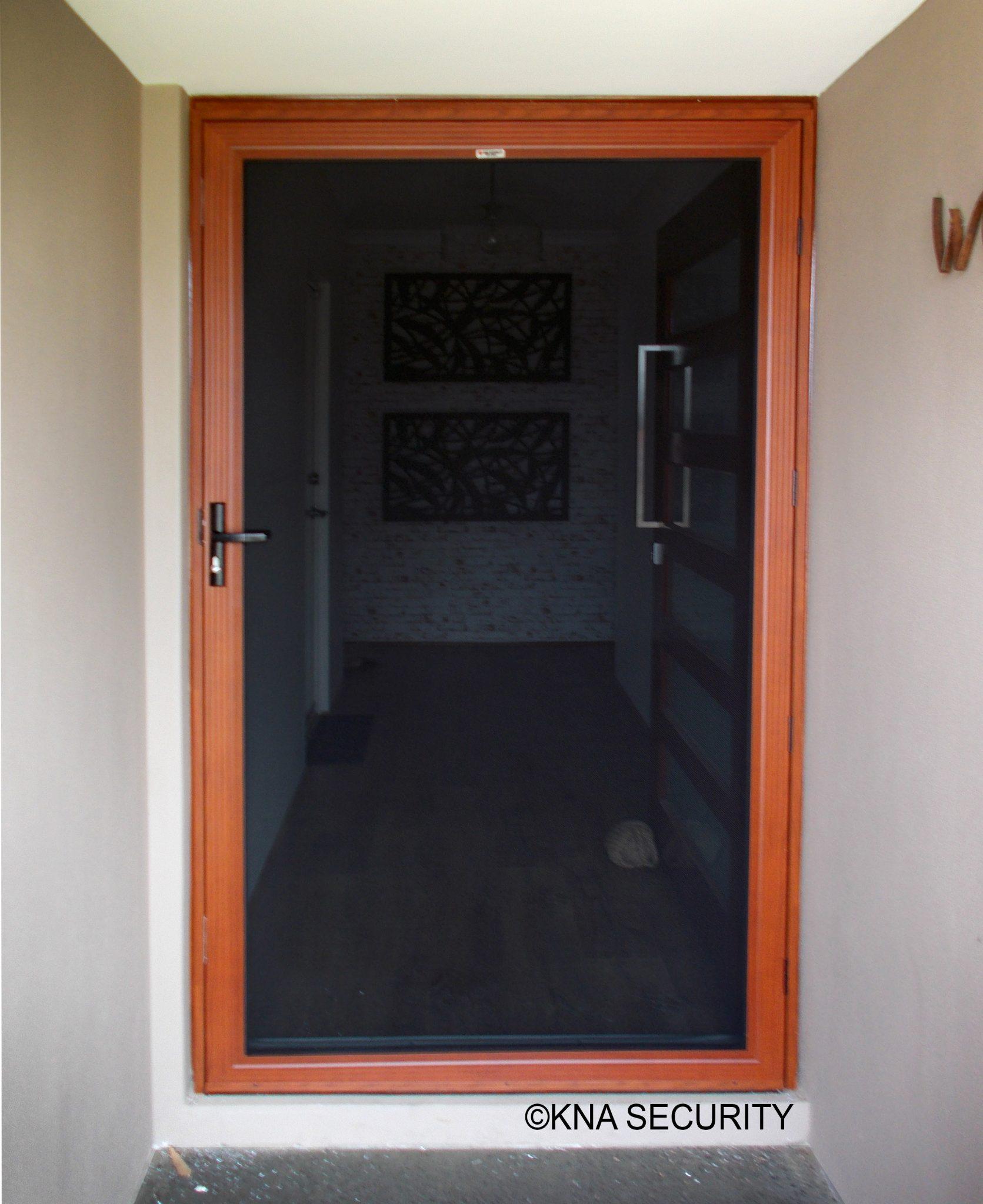 Timber Look Security Doors Kna Security 9561 2956