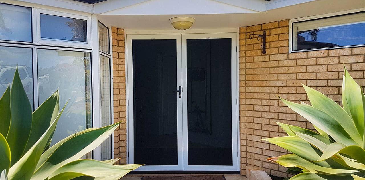 double-security-door