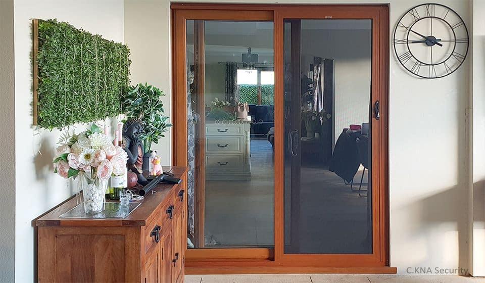 Double Glazing Security Door