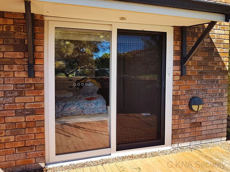 double glazed security door