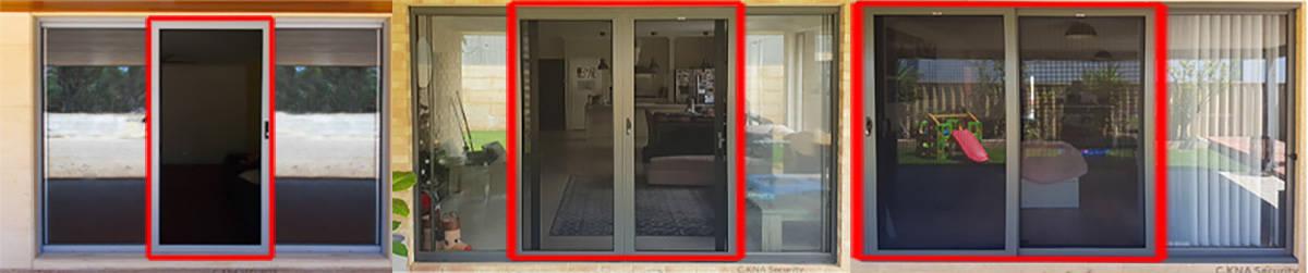 security door measuring