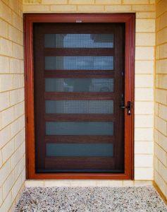 Timber Look Security Doors