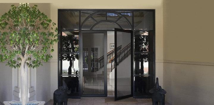 Invisi-Gard Double Front Door