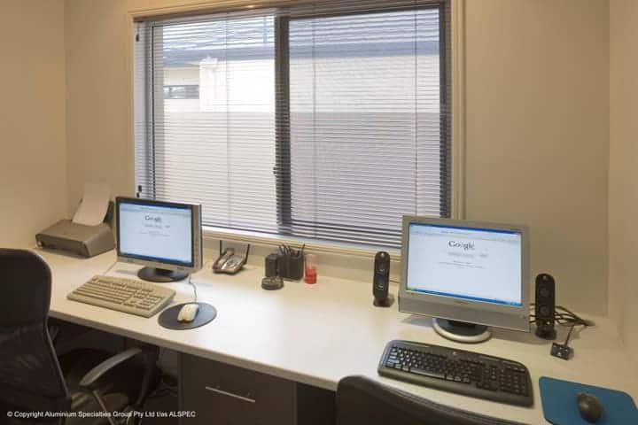 Invisi-Gard Window in Office