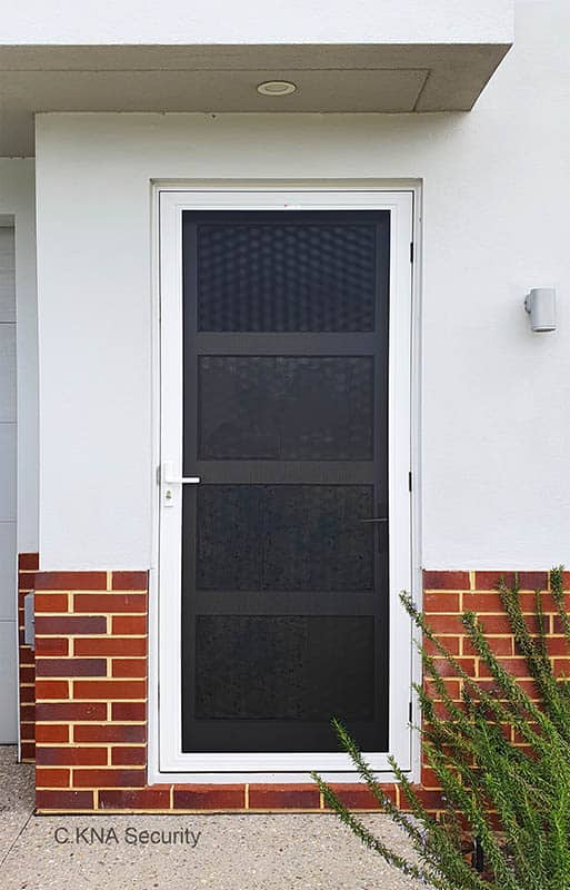 Strong security door