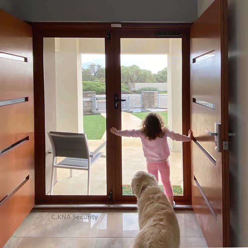 strongest security screen door