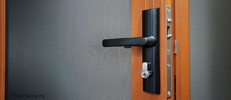 security screen mesh door