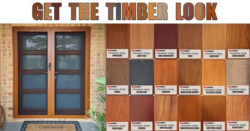 Wood look door prices
